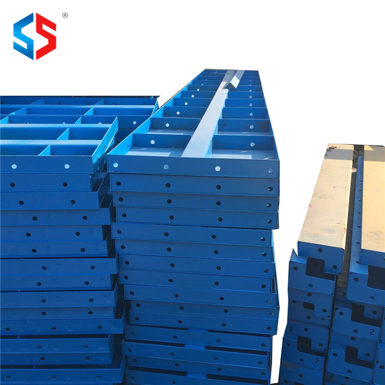 MF-007 Steel Structure Scaffolding Building Materials Steel Formwork For Concrete