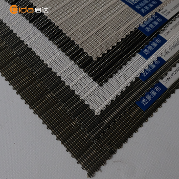 China market sunscreen fabric of electric roller blinds for project item