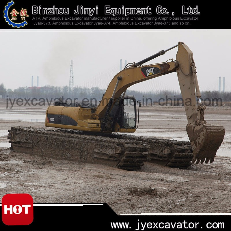 Best Quality Long Reach Swamp Buggies With Cat Upper Swing Body - Buy Swamp  Buggies,Long Reach Amphibious Excavator,Floating Excavator Product on