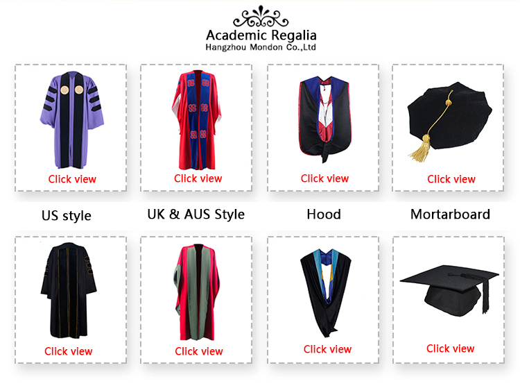 High Quality Customized Adult Graduation Robes-Package