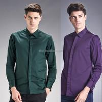 mens suits 2016 Long Sleeve Formal Dress Shirt Design dri fit shirts wholesale
