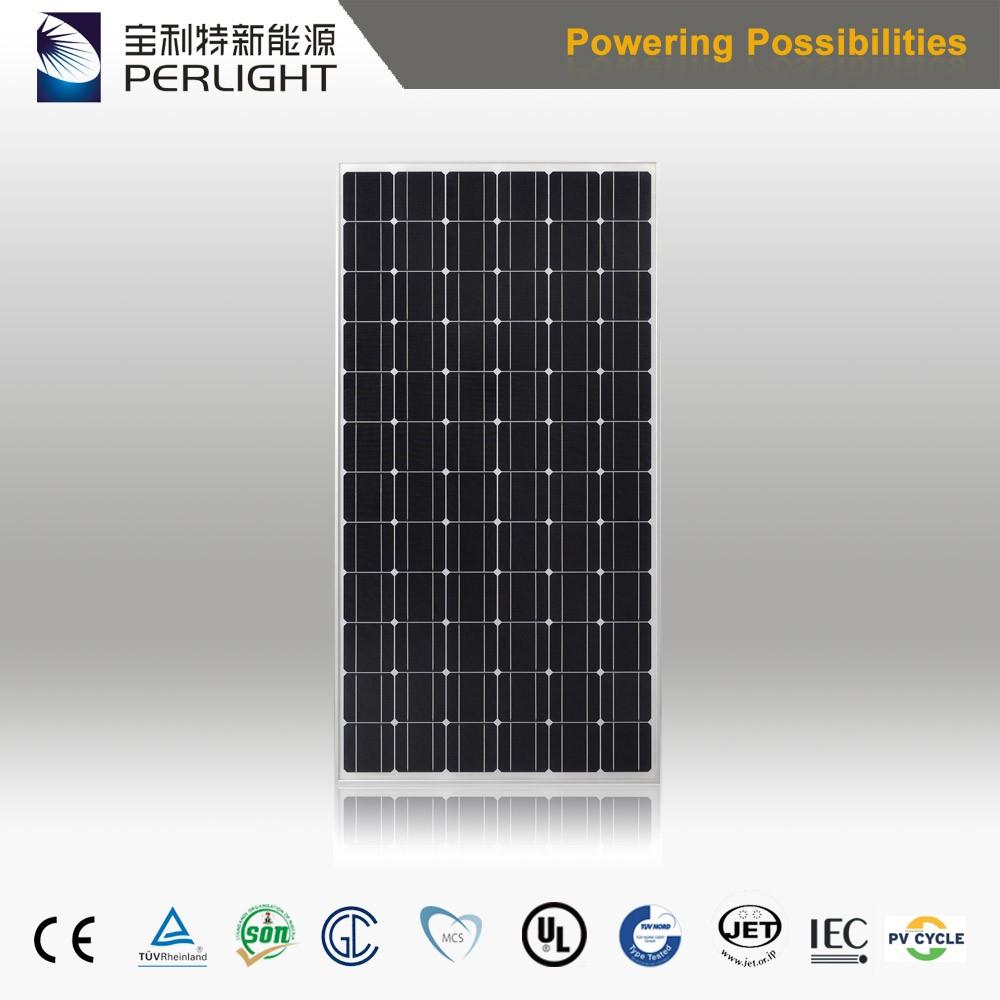 Perlight 4bb 320 Watt Monocrystalline Solar Panels Mono