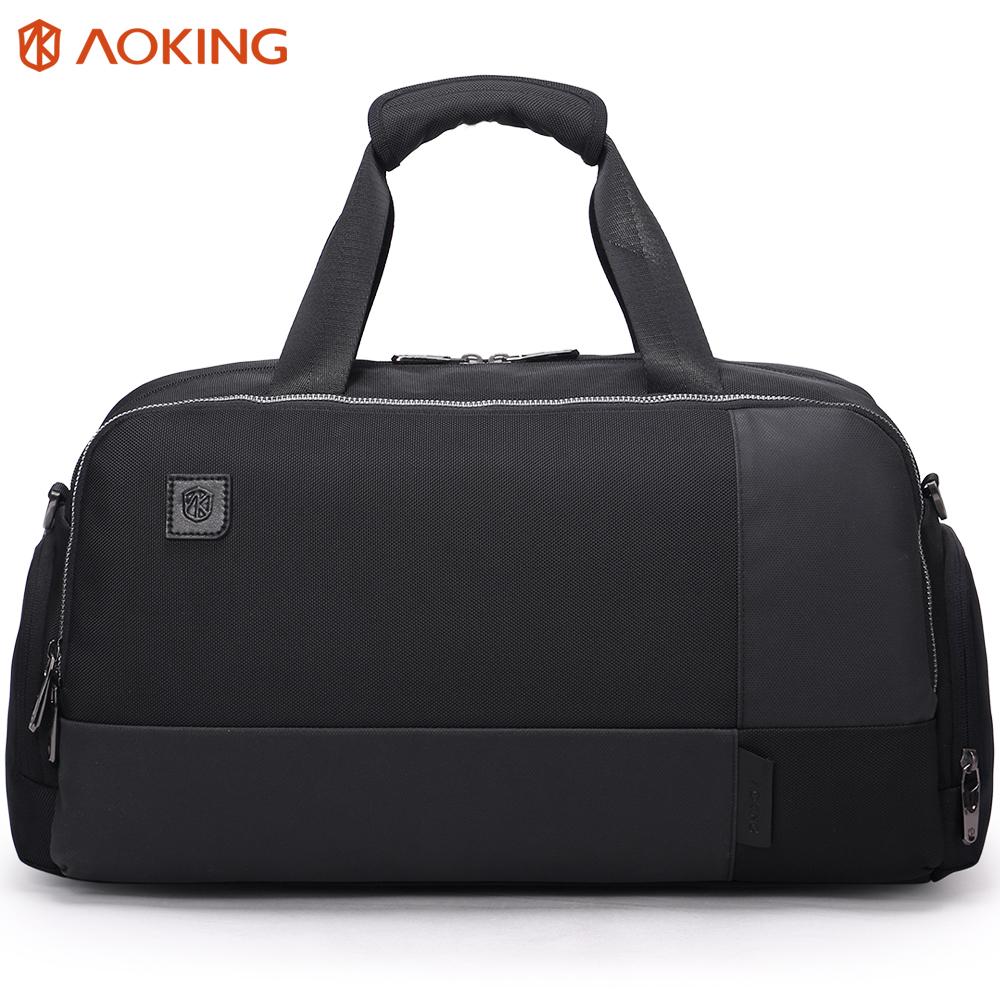 Aoking Custom Waterproof Mens Gym Sports Travel Shoulder Duffle Bag