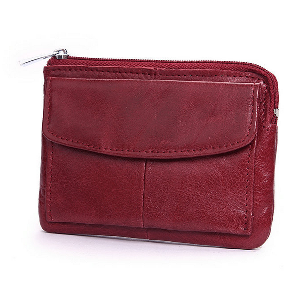 euro mens coin pocket wallet genuine leather coin wallet