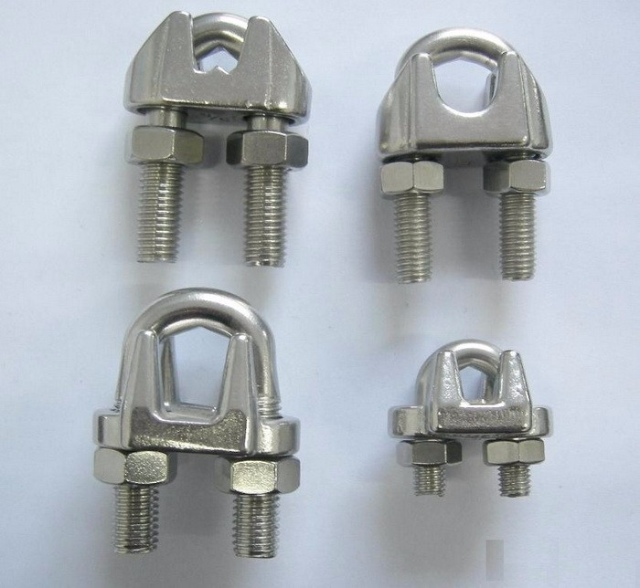 Small Wire Rope Clamps Stainless Steel Wire Rope Fastener Clamp ...