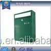 2016 YooBox Eagle One Posy Mounted lockable mail boxes: commercial mail boxes