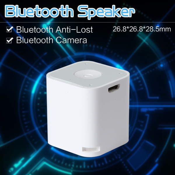 Mini Bluetooth Anti Lost Handsfree Speaker Selfie Shutter Remote For Smart Phone Iphone