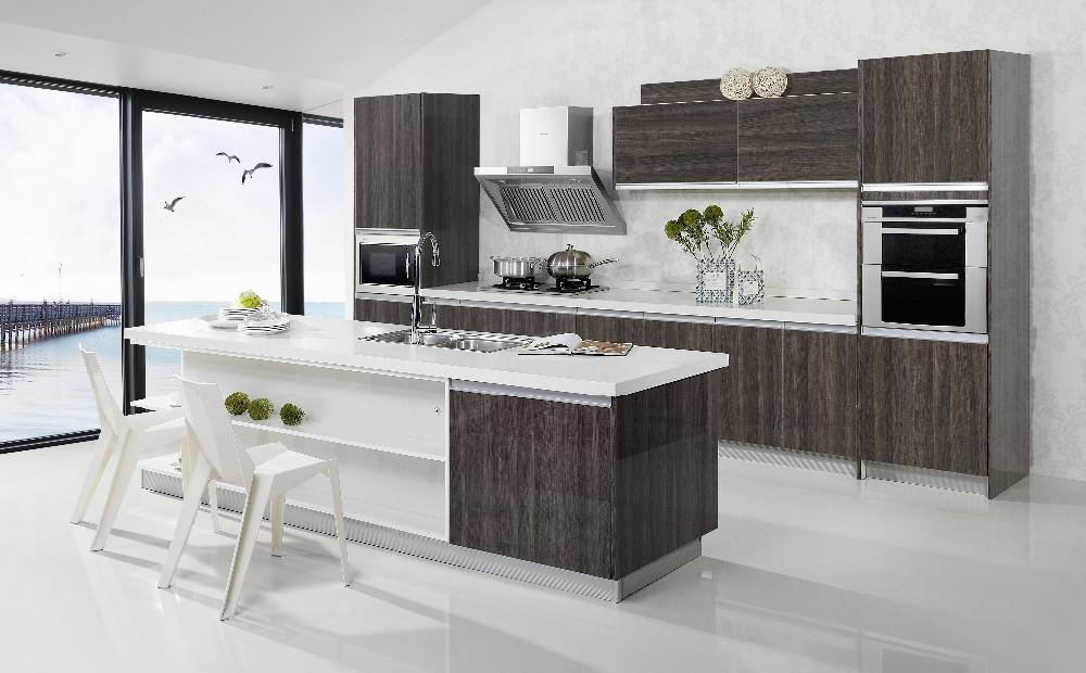 Wood Modular Kitchen Interior Design Imported Kitchen ...