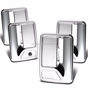 Car Accessories Chrome Exterior Door Handle Cover for 99-16 Ford F250+F350+F450