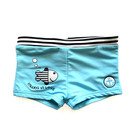 Customized brand boy swim bottom little boy swim boxer swimwear kids swim short trunks