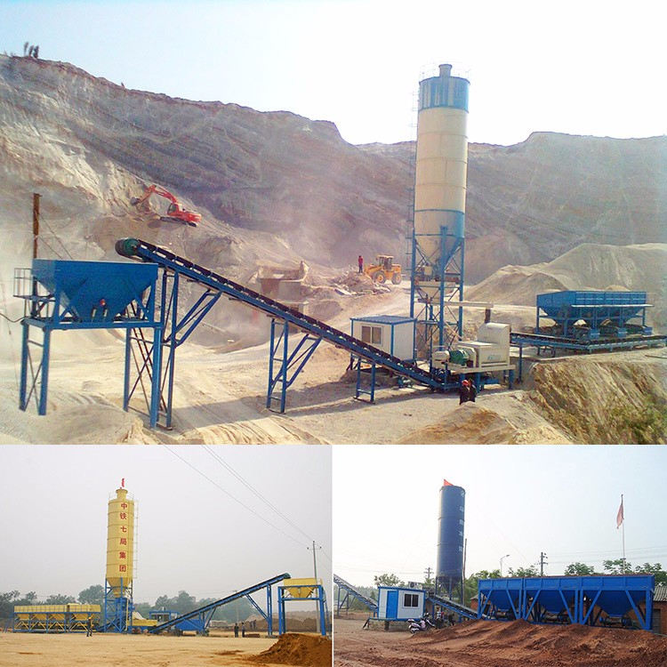 Good Price New Type 300 Ton Concrete Mixer Station Stabilized Soil Dry Mixing Plant Good Service For Sale From China