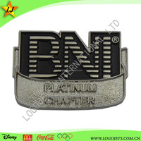 Promotional high quality custom design iron metal business gift lapel pin