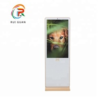 2018 New Type 43 inch floor standing portable digital signage lcd advertising display