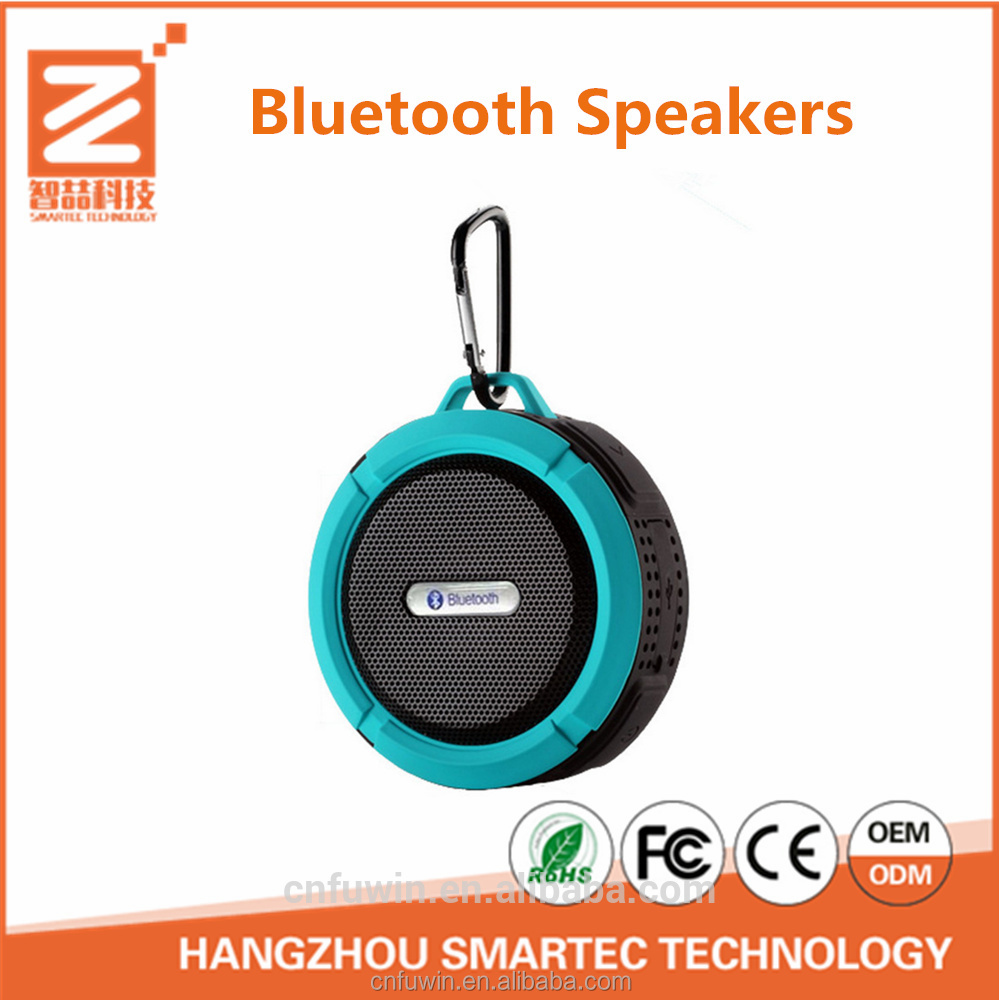 2017 Hot Sale Portable Mini trolley speaker With LED Light For Computer Speaker With TF USB FM Mic