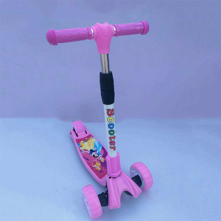 Best Quality Hot selling three wheel child kick scooter for kids ,  baby cheap bmx scooter