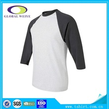Custom blank raglan t shirt wholesale