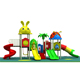 Factory price kids outdoor playground items used outdoor playground equipment for children plastic slide outdoor