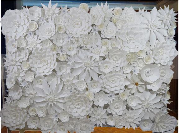 Cheap Wholesale Handcraft White Bulk Artificial Flowers
