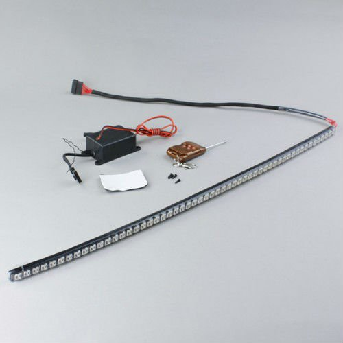 LED Knight Rider Red Flash Grille Strip Light
