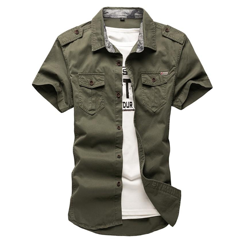 0c165fd8028 2019 Wholesale 2016 High Quality Summer Style Dress Shirts Men Shirt ...