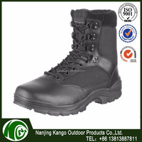 Customed Packing Unique Design tactical black military boot side zip ,american style military boot,tactical boot military