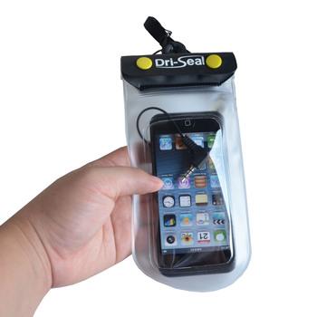 Plastic Waterproof Ziplock Bags With Earphone Jack High Quality For Mobile Phone