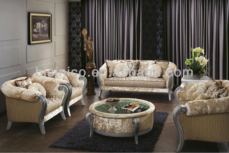 klassieke stijl royal bank sets, vintage woonkamer slaapbank ...