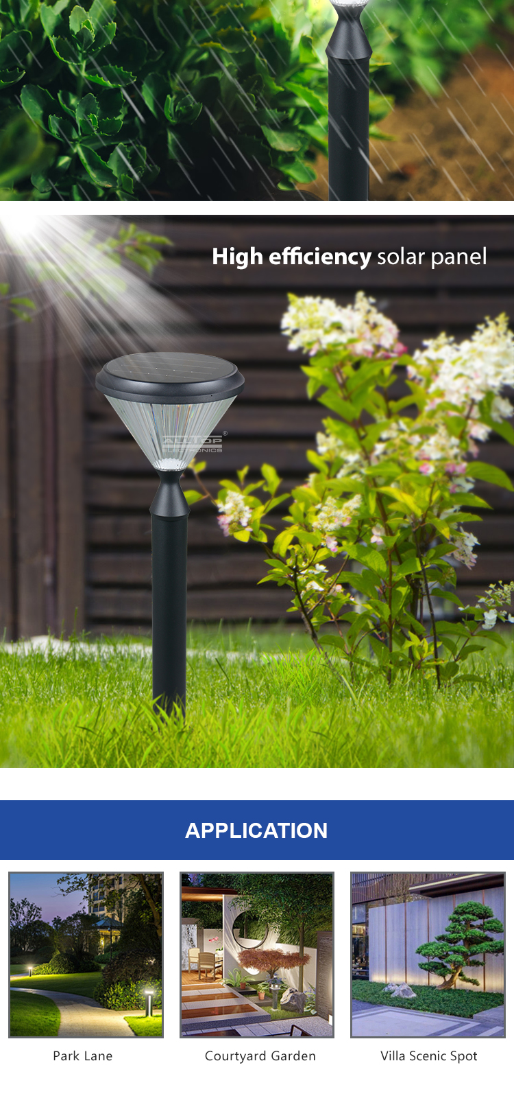 ALLTOP solar panel yard lights-15