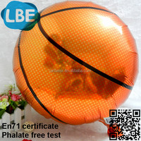 18 inch brazil mylar balloon basketball