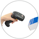 High Speed 1D hand-held Laser Barcode Scanner for many POS system and retailing XL-6500A, 2 years warranty with factory price