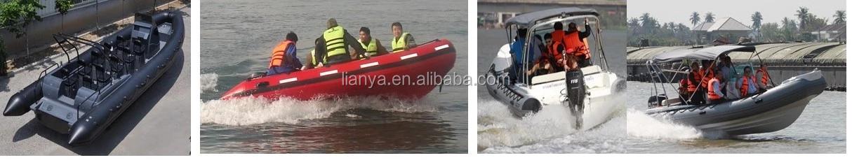 Liya 3.3 m/10.8ft barco float tubo barco barriga costela hypalon barco inflável