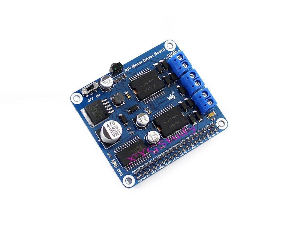 NEW Raspberry Pi 3 Expansion Board DC Motor Stepper Motor Driver Module Supports Raspberry Pi A+/B+/2B/3B @XYG