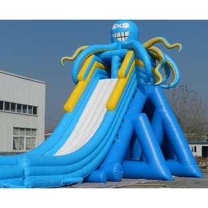 Commercial giant inflatable water slides for kids and adults