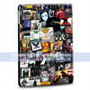 own design black hard PC case for ipad air for apple mini