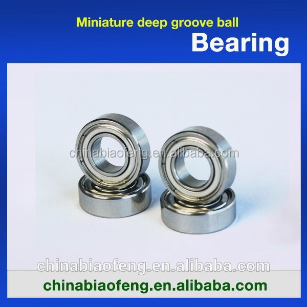 Miniature Deep Groove Ball Bearing For Ceiling Fan Ball Bearing Sizes