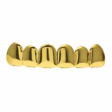 Хип-хоп ЗУБЫ Grillz набор Топ & Bootom Groll Зубы вампира Панк зубы грили Косплей зубы Кепка Хэллоуин ювелирные изделия R40(Китай)