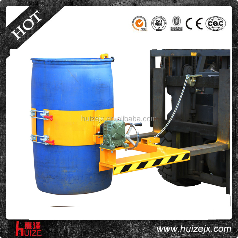 Clamp Forklift Controls : Four forklift oil drum clamps buy