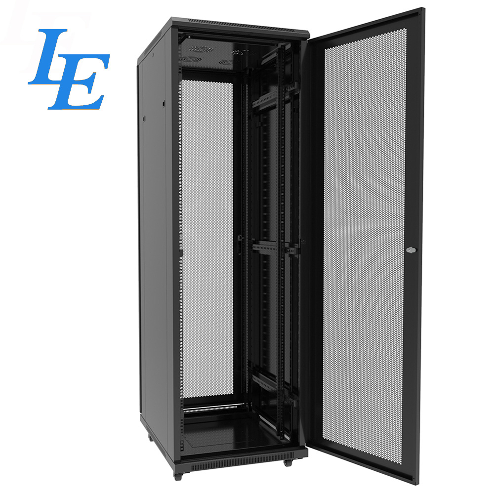 19 Inch Mesh Door Network Data Server Rack