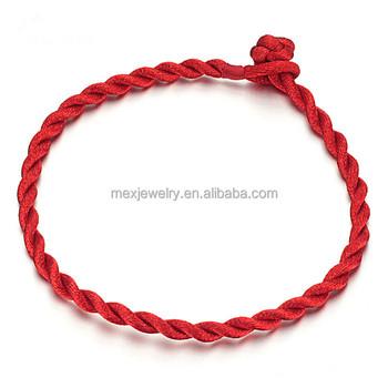 Good Luck Red String Faith Rope Bracelet Size Adjule