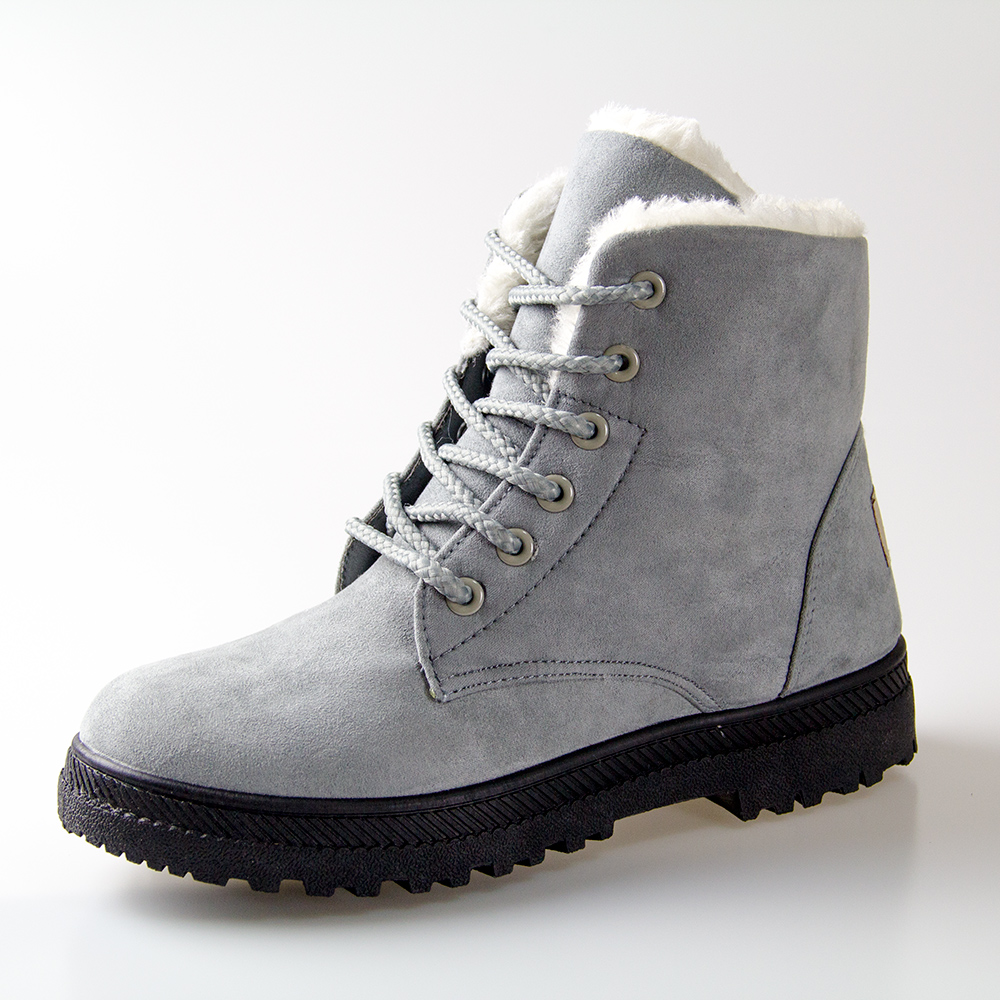 Women Winter Boots 35 42 Fur Snow Boots Women Ankle Boots