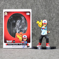 5 5 13 5cm Figure Ash Ketchum Pikachu Kids Toy PVC Partners Action Figure Resin Collection