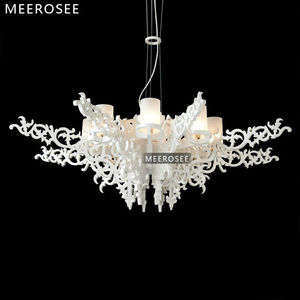 Modern Design Glass Chandelier Light Bulb Chandelier Indoor Glass Chandelier MD3182
