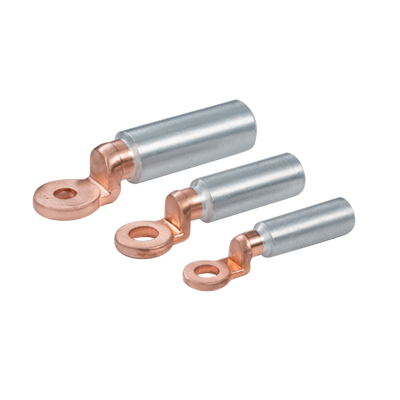 Copper Double Hole Cable Lug Compression Flat Terminal Lug