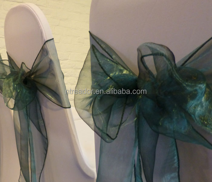 organza chair sash