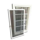 Factory direct supply window grill design windows security round