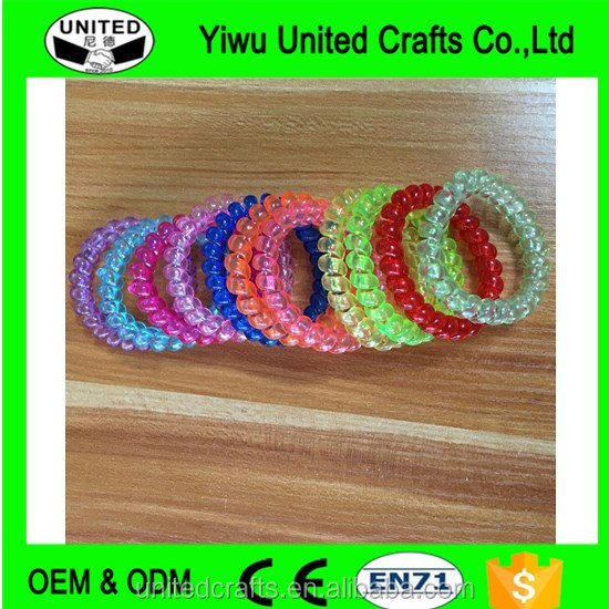 10pcs Girls Hair Elastics Bands Rubber Ties Band Hair Rope Hairband