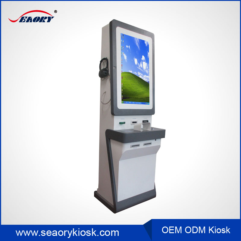"32"" inch Hot sale shopping mall payment android interactive advertising touch screen terminal kiosk"