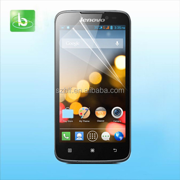 Factory direct sell korea screen protector automatic attach anti-broken custom printing screen protector for lenovo s820