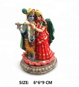 Customize India Hindu God Religion Ladha Krishna Resin Figurines