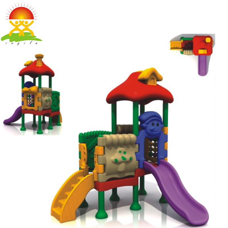 Outdoor kids all plastic slide